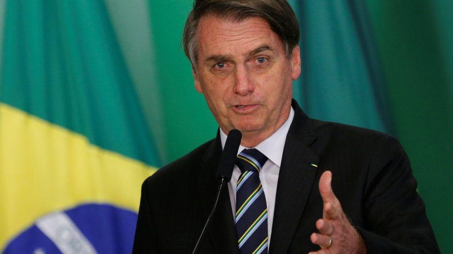 """""""Solo Dios me sacará del cargo"""", afirmó hoy Bolsonaro."""