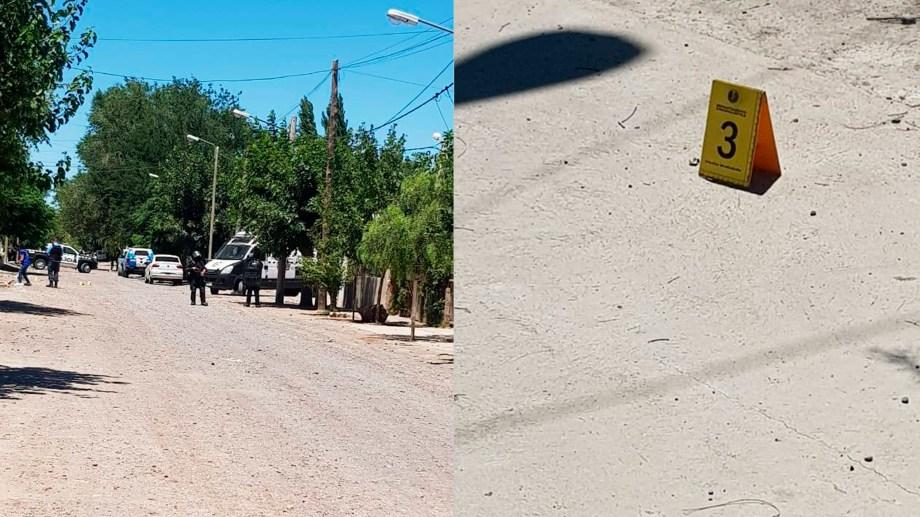 El lugar donde sucedió la muerte de Cañete. Foto: Facebook vigiladoresen.frecuencia