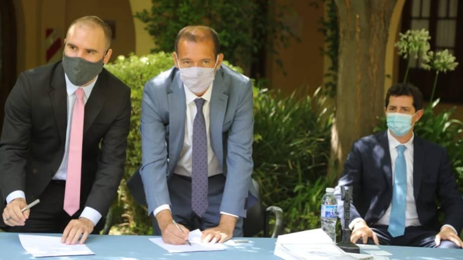 El ministro de Economía nacional, Martín Guzmán, comprometió a las provincias a no endeudarse en dólares. (Archivo Florencia Salto)
