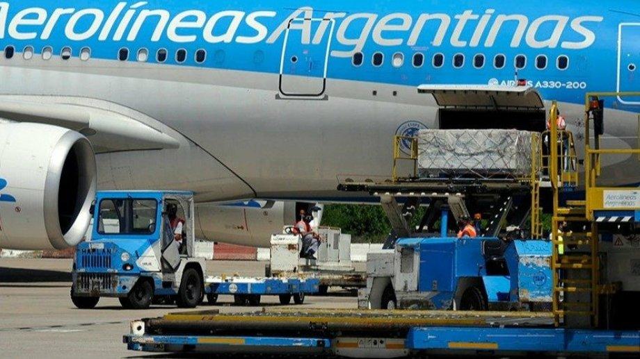 Partió a la madrugada el noveno vuelo de Aerolíneas Argentinas para traer más vacunas desde Moscú.