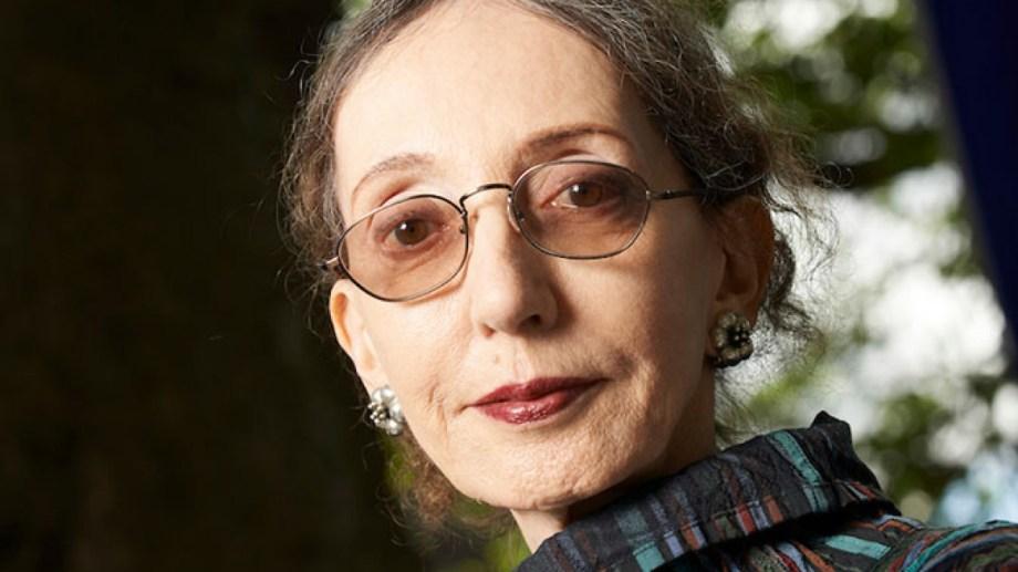 Joyce Carol Oates, una eterna candidata al premio Nobel de Literatura.