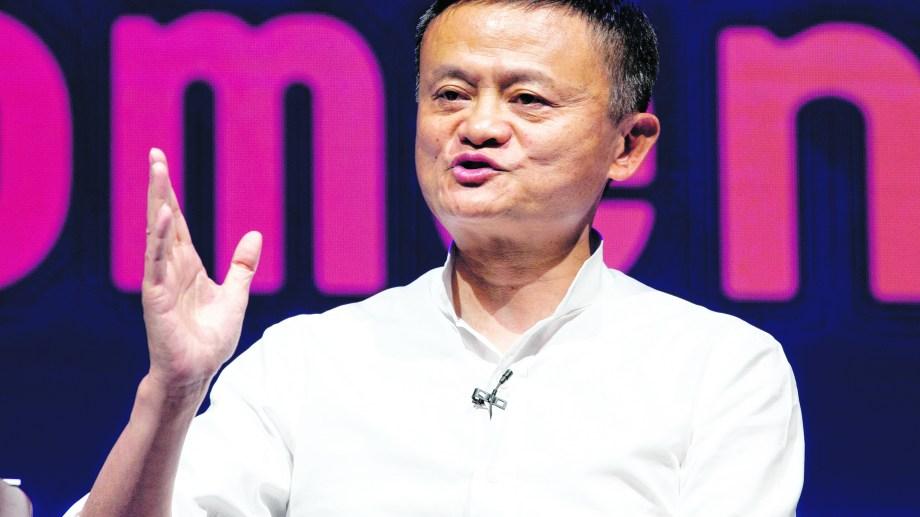 El creador de Alibaba, la empresa de venta online china.