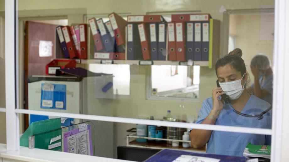 Hospital Francisco López Lima, en Roca. Foto: Juan Thomes.-
