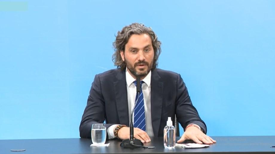 El jefe de Gabinete Santiago Cafiero anunció nuevas medidas por el aumento de casos de coronavirus
