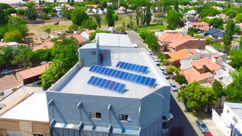 Una de las instalaciones en Cipolletti, la ciudad con mayor desarrollo.