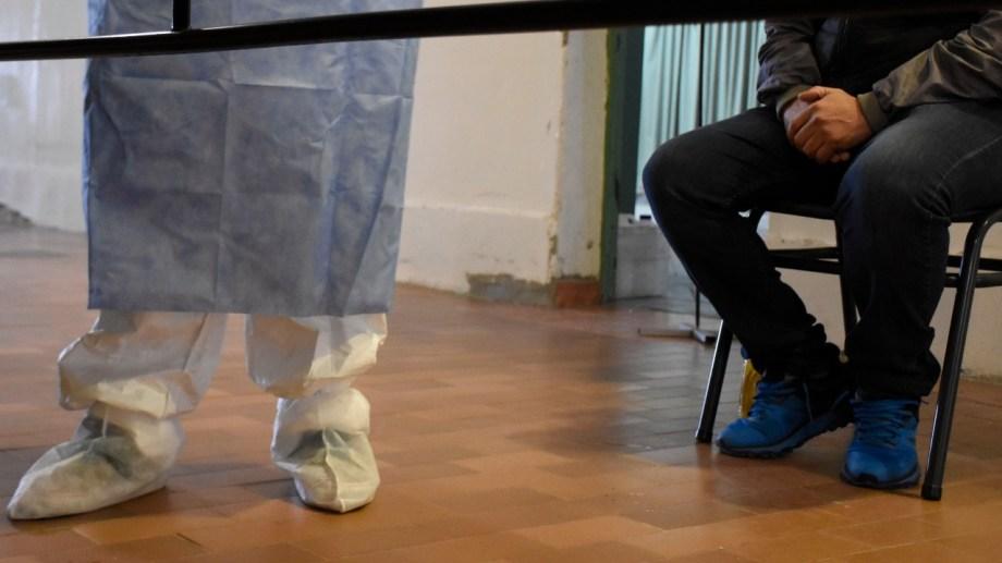 El sistema de salud de Neuquén está al borde del colapso. Foto: Florencia Salto