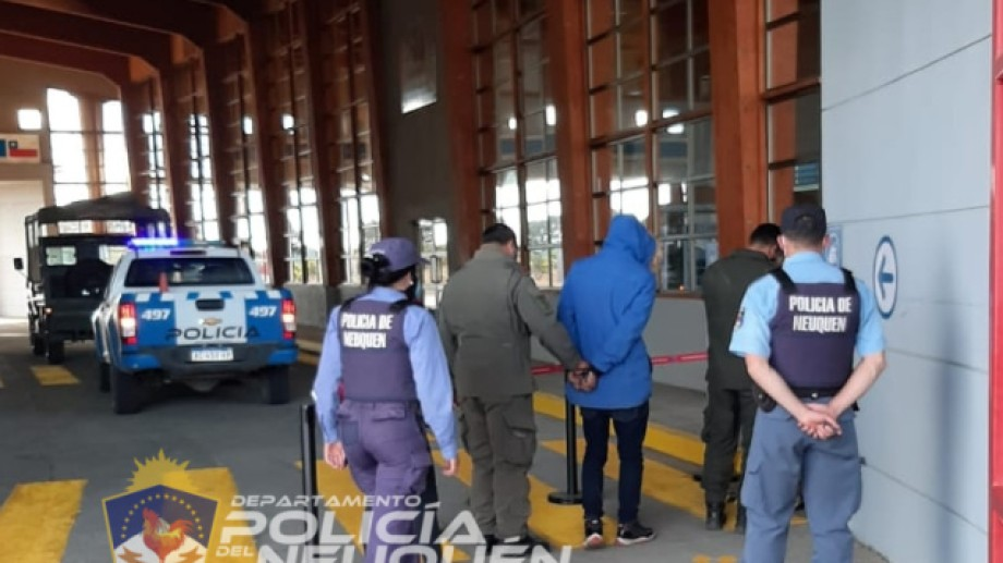 Cuatro personas cruzaron desde Chile a Villa Pehuenia por un paso no habilitado. (Foto: Gentileza).
