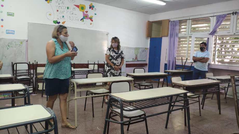 Las clases presenciales se retomaron en Neuquén a fines de marzo, después del paro docente. (Archivo Gentileza).-