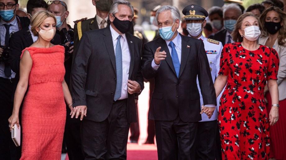 Según Fernández, la situación de Venezuela no estuvo entre los temas tratados en su reunión con Piñera.