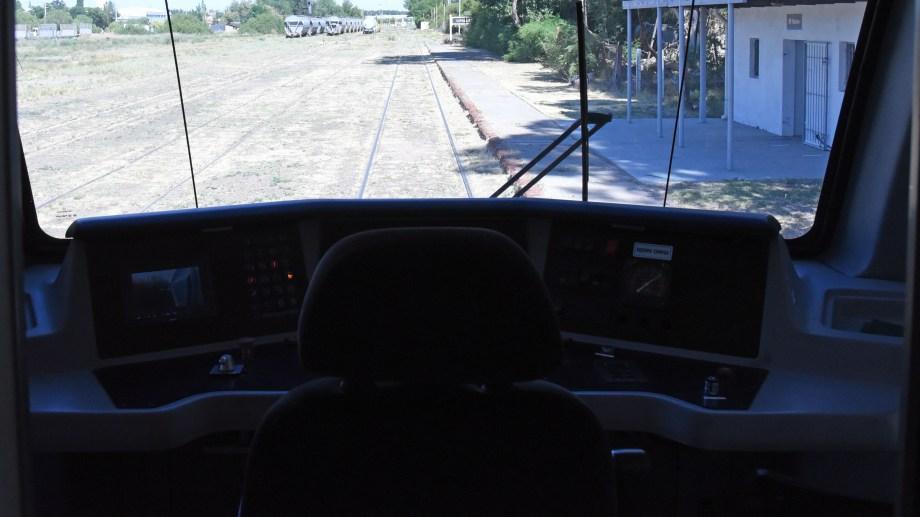 Los refugios del tren del Valle para el tramo Neuquén - Plottier se licitarán en marzo (foto archivo Florencia Salto)