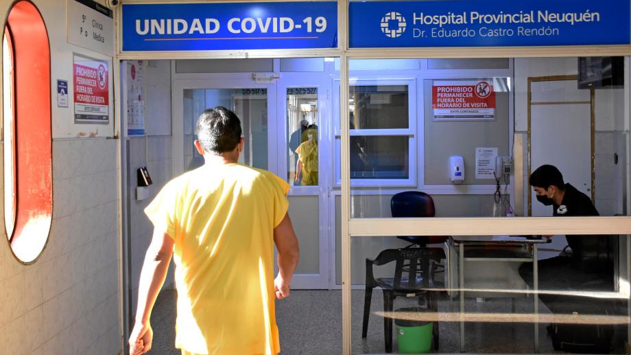 En la semana pasada se comenzó en la provincia la vacunación a mayores de 80 años.  Foto Archivo Florencia Salto