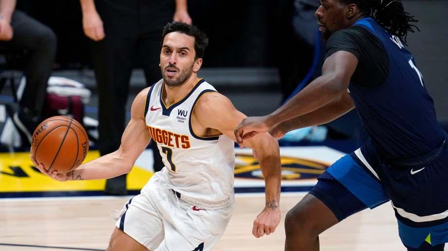 Campazzo volverá a jugar esta noche en la NBA.