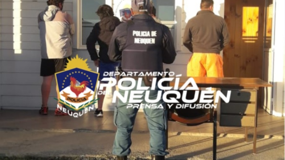 Cuatro hombres fueron infraccionados por cazar patos silvestres. (Foto: Gentileza).