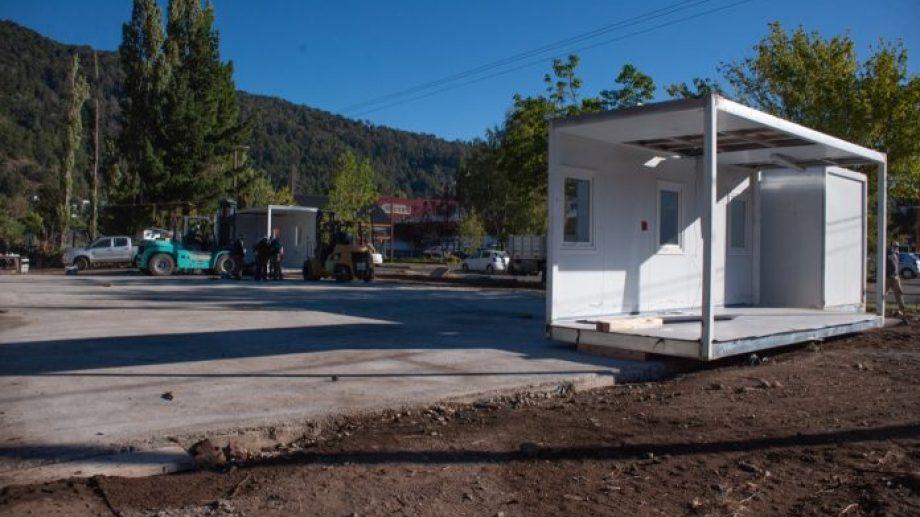 Nación ya está en proceso de montaje del hospital modular de San Martín. (Foto: gentileza)