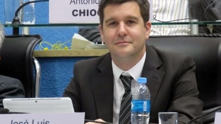 El legislador del FdT, José Luis Berros