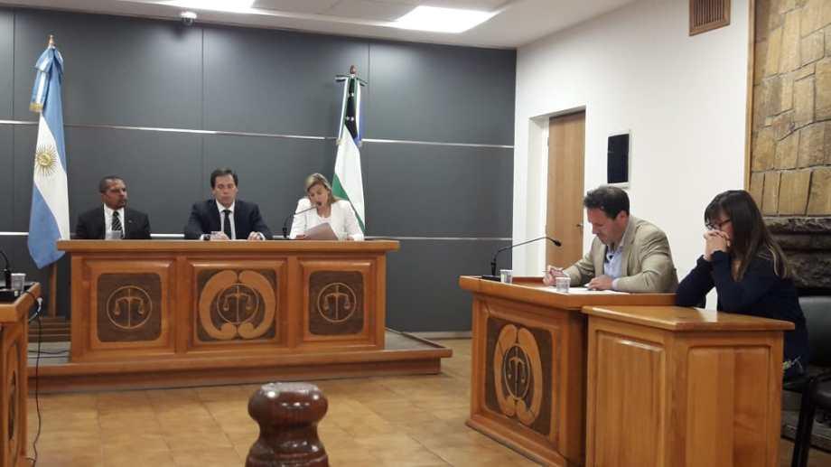 El tribunal que lo condenó en 2019, integrado por Calcagno, Campana y Martini. Foto: archivo