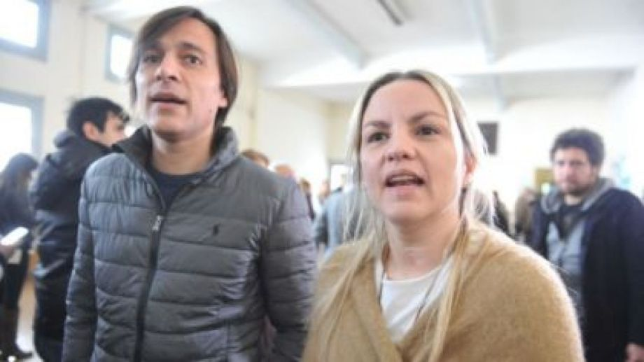 El esposo de Píparo está detenido desde el viernes.