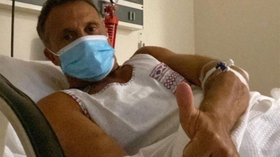 Sergio Lapegüe dio positivo por covid-19 tras regresar de unas vacaciones con su familia.