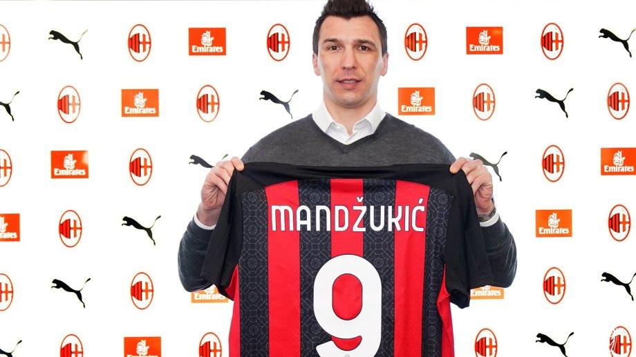 Mario Mandzukic es nuevo refuerzo de Milan. El líder de Italia lo incorporó esta semana.