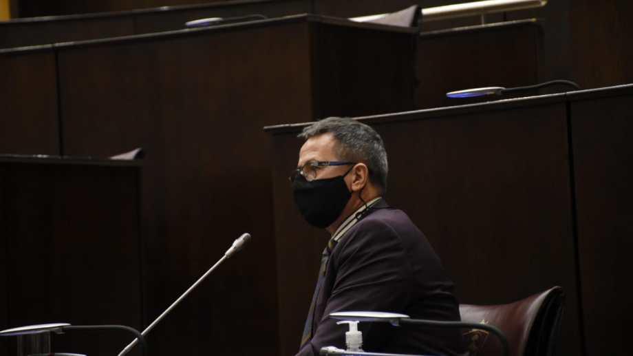 El juicio contra el funcionario judicial se desarrolló del 15 al 18 de diciembre en la Legislatura. Foto Yamil Regules.