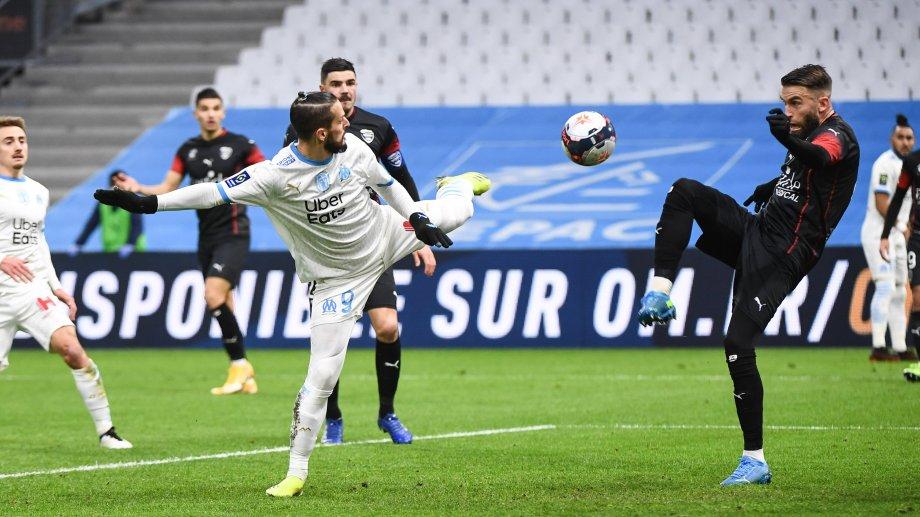 Pipa Benedetto jugó todo el partido para Marsella y su gol no alcanzó.