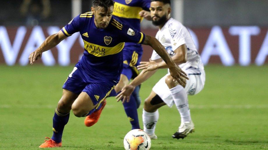 Entre varios temas, Salvio habló del partido que significó la eliminación de la Copa Libertadores.