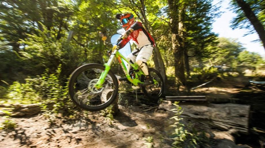 Hay ocho circuitos de mountain bike en Chapelco, con distintos niveles de dificultad.