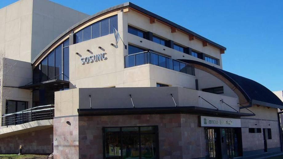 La sede de Sosunc en Neuquén. Foto: Facebook sosunc.unco
