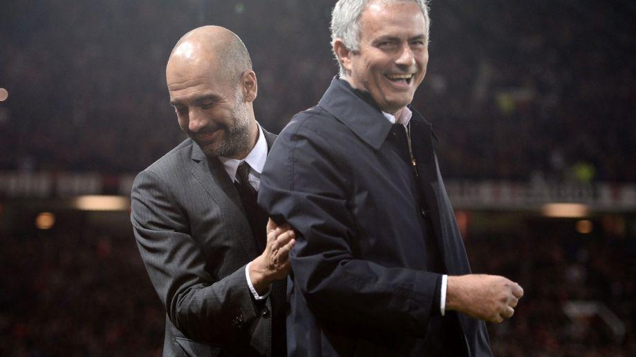 Pep y Mou se vuelven a ver las caras en la Premier League.