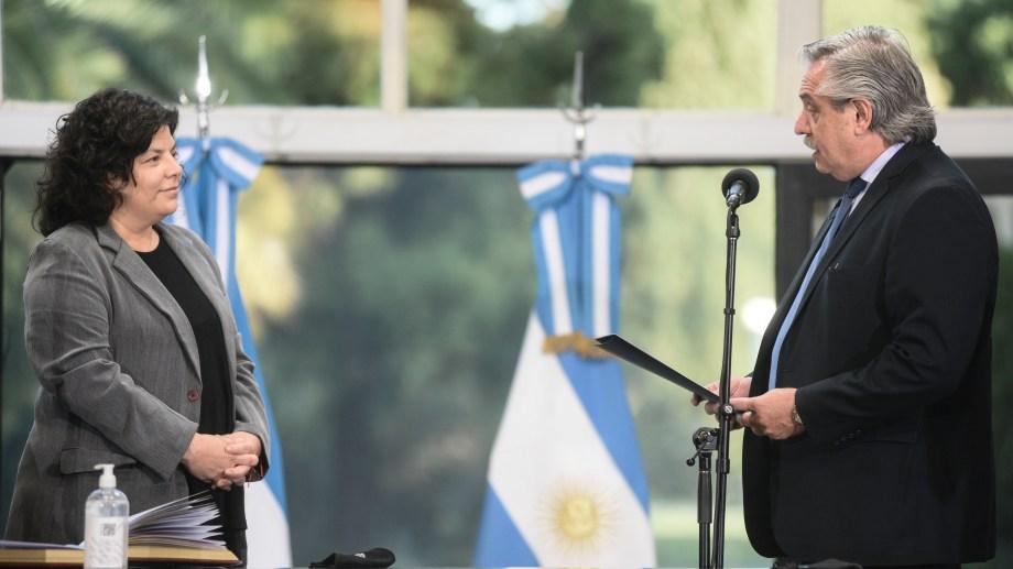 Vizzotti asumió como ministra de Salud hace 6 días en reemplazo de Ginés González García.