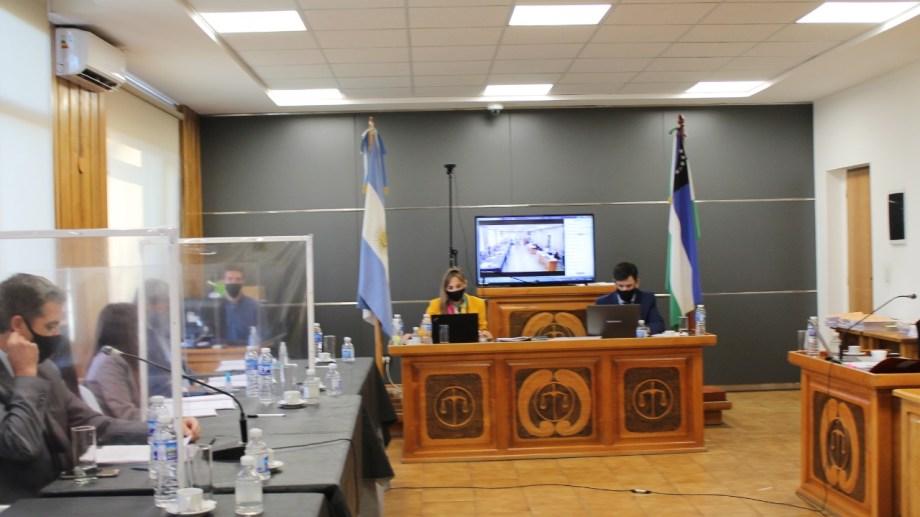 El Consejo de la Magistratura inició hoy en Bariloche el jury a la jueza multifueros de El Bolsón. Gentileza