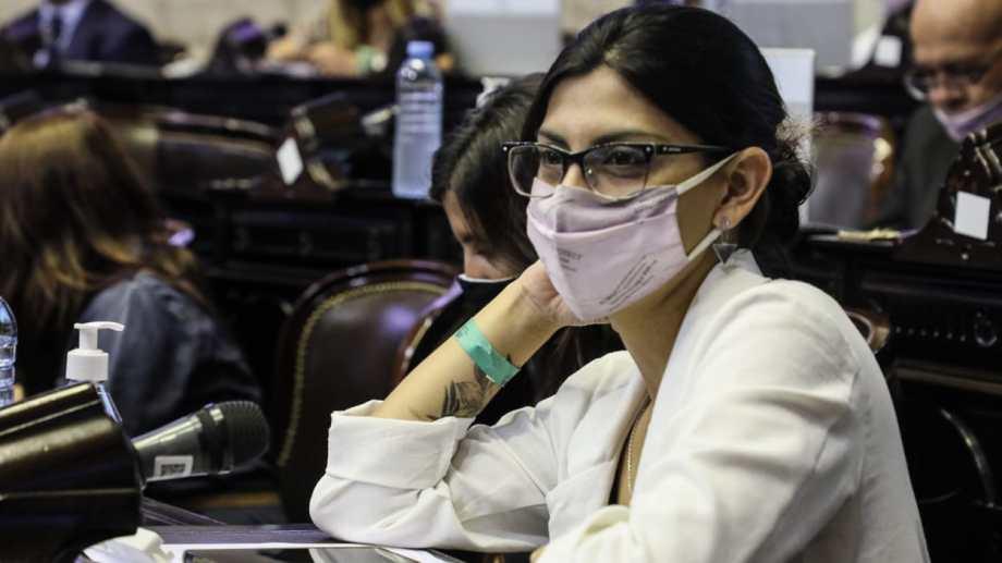 La médica de San Antonio, referente del Movimiento Evita, busca un mandato completo en Diputados.