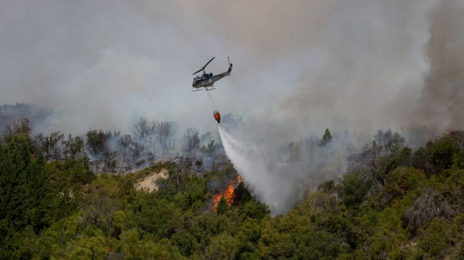 El fuego afectó, hasta ahora, 7.000 hectáreas. Foto: archivo