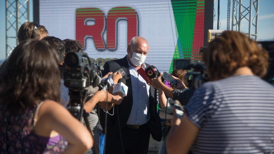 """El ministro de Salud de Río Negro, Fabián Zgaib, dijo que el turismo """"no produjo desequilibrios en el sistema de salud"""". Foto: Marcelo Martínez"""