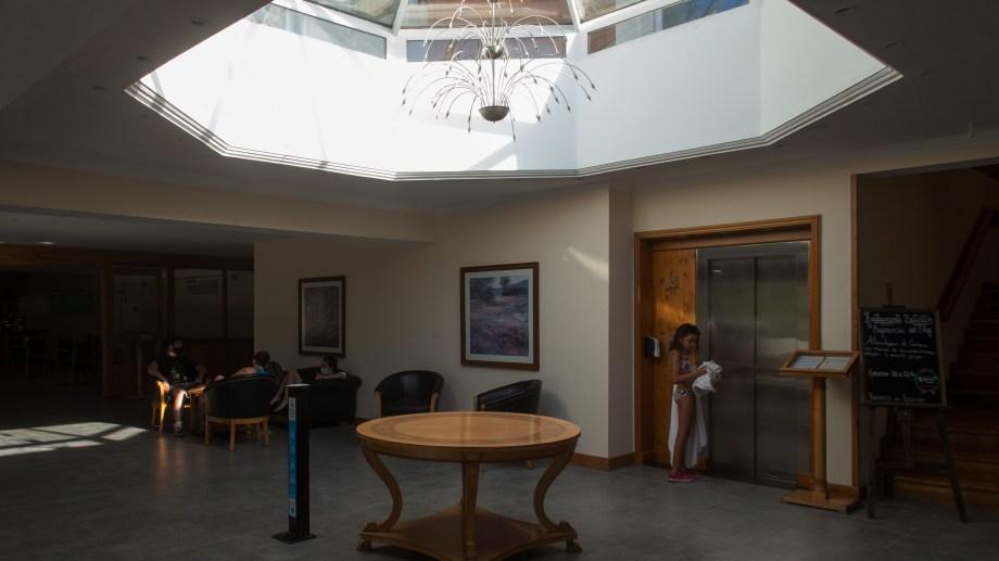 Huinid es uno de los hoteles de alta gama que tiene Bariloche. Foto: Marcelo Martínez
