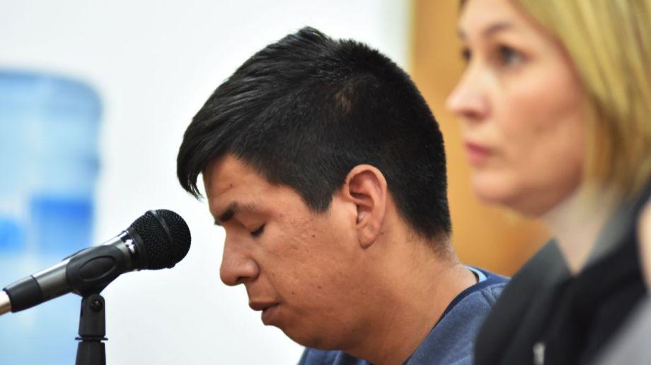 """""""Neneo"""" San Martín, único acusado por el homicidio de Luciano Fuente en Cutral Co, durante la primera audiencia."""