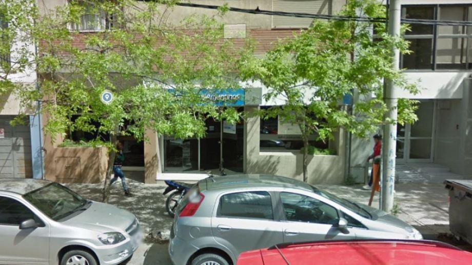 La sucursal céntrica de Aerolíneas Argentinas reabrió sus puertas. (Captura).-
