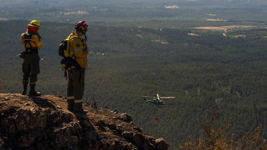 El incendio forestal, que afectó unas 7800 hectáreas, está contenido, según informó el Splif (Foto: archivo)