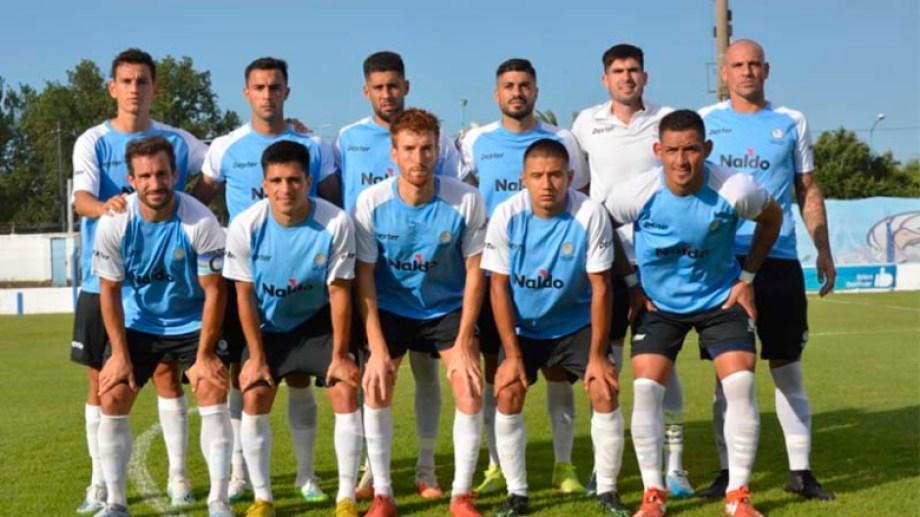 El último de abajo a la derecha es Troncoso, el delantero que pasó por varios equipos de la zona. (Foto: Prensa Bolívar)