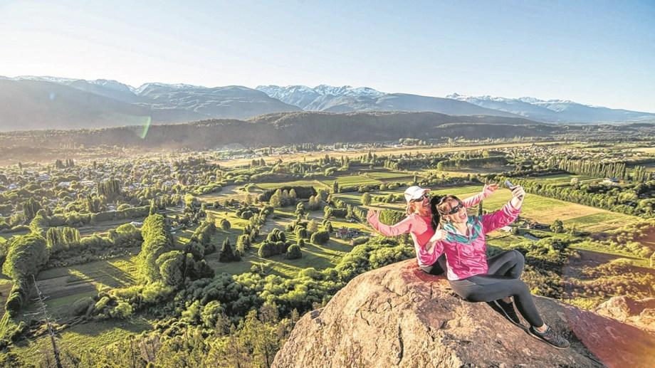 Aire libre, naturaleza e increíbles paisajes encontraron los turistas en este verano en El Bolsón. Gentileza