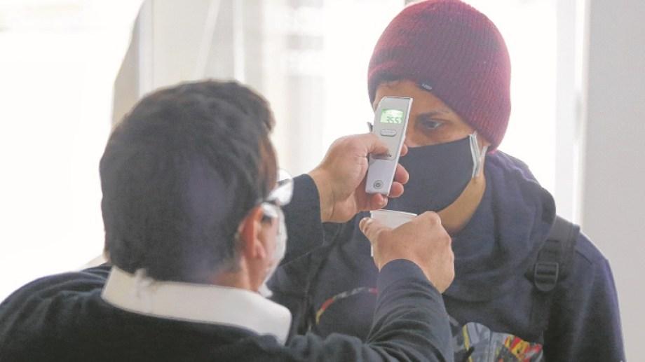 La prueba del olfato fue una estrategia desarrollada en distintos sectores de Roca durante la etapa inicial de la pandemia.
