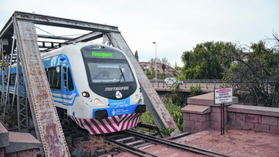 El tren entre Plottier, Neuquén y Cipolletti funcionará el domingo de las PASO,  y gratis. (archivo)