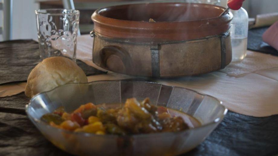 La cazuela de cordero es un plato exquisito para degustar. Foto: Alejandra Díaz.