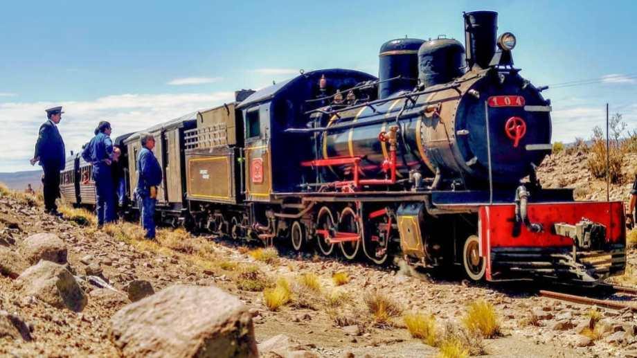 El legendario trencito a vapor, una reliquia que genera atracción en el mundo. Foto: Alejandra Díaz.