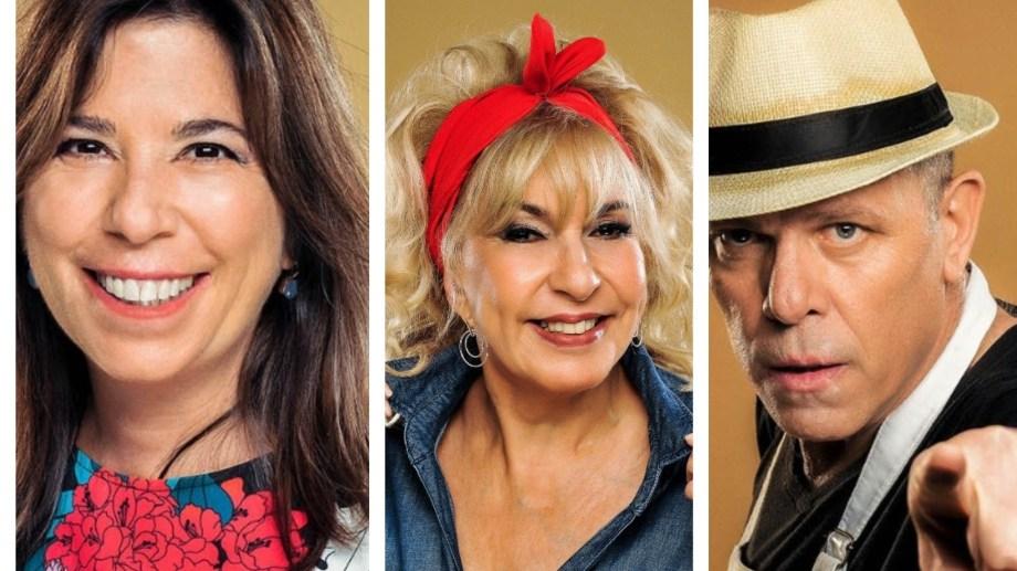 La periodista María O'Donnell, la actriz Georgina Barbarossa y el ex basquetbolista Hernán Montenegro serán parte de la segunda temporada.