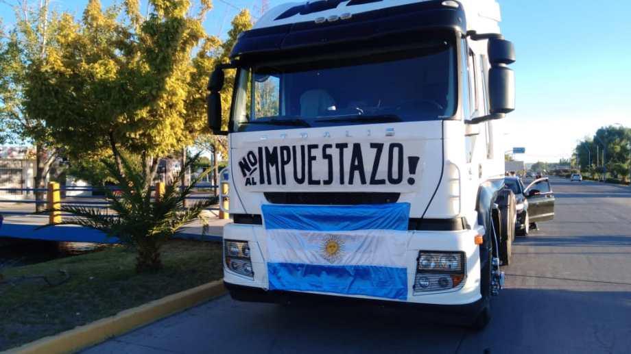 El 5 de febrero se hizo una movilización provincial. Mañana habrá otra similar, que en Roca empezará en San Juan y Alsina.