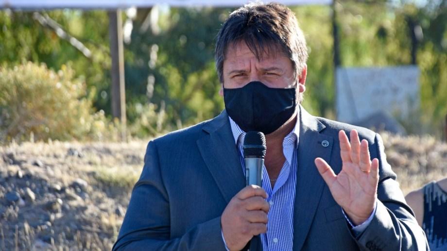 El intendente de Neuquén confirmó hoy que no se volverá a votar en papel (foto Florencia Salto)