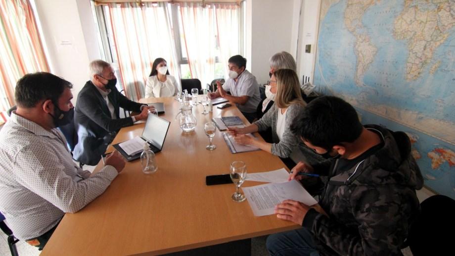 La reunión con ATE se realizó en las oficinas de Avenida del Trabajador. Foto: archivo Oscar Livera.