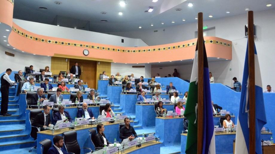 El presidente de la Legislatura, Alejandro Palmieri ya acordó esa aplicación con las autoridades de los tres bloques. Foto: Marcelo Ochoa.
