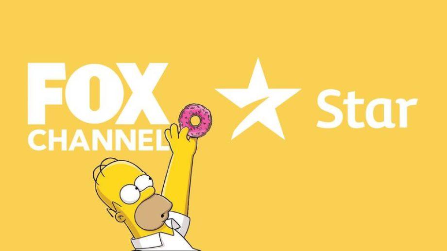 La bienvenida al Star Channel fue dada por uno de los personajes más queridos de Fox: Homero Simpson.-